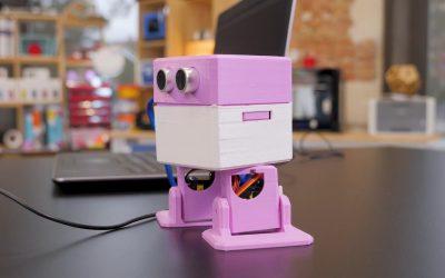 Otto DIY, el robot educativo más divertido